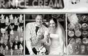 Rachel and John's Wedding and Ice Cream catering by Mister Nice Cream.