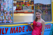 Ice Cream Van for hire during School Prom functions and parties.