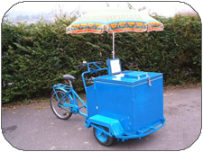 Ice Mobiles Ice Cream Trike named Robin