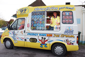 Ice Cream Van for Hire in Oxfordshire Northamptonshire Buckinghamshire Gloucestershire Warwickshire Berkshire and Wiltshire
