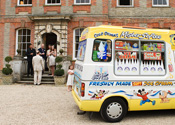 Ardington House Wedding Mister Nice Cream will Travel to your location far away