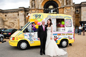 Simply the BESTEST Wedding Ice Cream Van Provider in Oxford Buckinghamshire